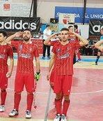 Avrupa Şampiyonluk kupası Afrin şehitlerine armağan edildi