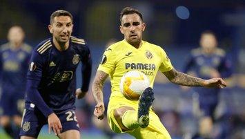 Villarreal Zagreb'ten avantajlı döndü