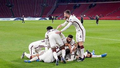 Ajax Roma 1-2 (MAÇ SONUCU - ÖZET)