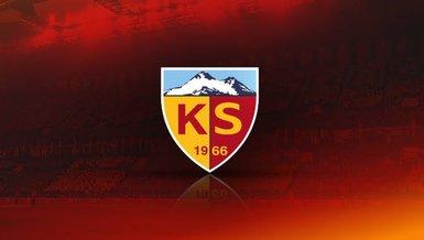 Kayserispor'a yeni şort sponsoru