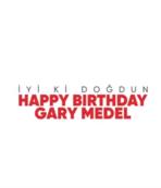 Beşiktaş Medel'in doğum gününü kutladı