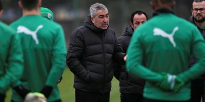 Bursaspor'da gözler Göztepe maçına çevrildi
