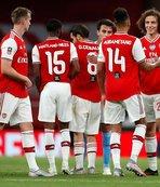 FA Kupası'nda ilk finalist Arsenal!