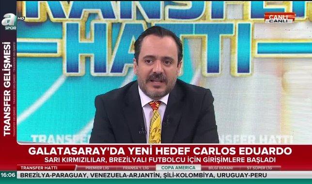 Galatasaray'a yeni 10 numara: Carlos Eduardo