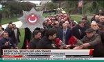 Beşiktaş şehitleri unutmadı