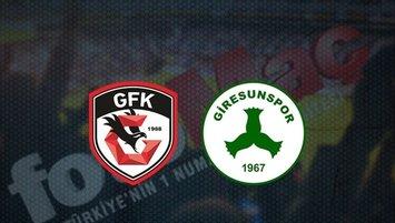 Gaziantep FK - Giresunspor | CANLI