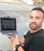 Valbuena Fenerbahçe maçını böyle izledi