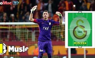 Galatasaray'ın Ankaragücü karşısındaki ilk 11'i