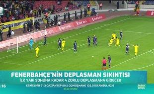 Fenerbahçe'nin deplasman sıkıntısı
