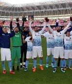 Trabzonspor'da hedef bir üst tur