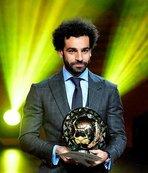 2018'in Afrikalı futbolcusu Salah
