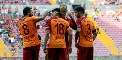 Galatasaray'da 15 günlük izin başladı