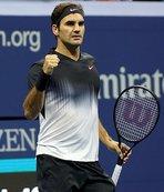 Federer çeyrek finalde