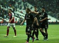 Beşiktaş-Braga maçından kareler