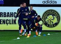Fenerbahçe Alanyaspor hazırlıklarını sürdürdü