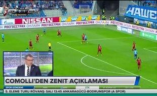 """Damien Comolli'den Zenit yorumu: """"Turu geçmeye çalışacağız"""""""