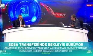 Serdar Sarıdağ: Sosa önceliğini Trabzonspor'a verir