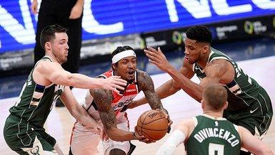 NBA'de Bucks galibiyet serisini 4'e çıkardı