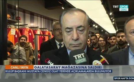 Mustafa Cengiz'den flaş saldırı açıklaması