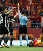 Süper Lig'de mücadele kartlara yansıdı