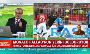 Monaco Falcao'nun yerini dolduruyor