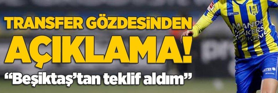 anas tahiri besiktastan resmi teklif aldim 1598600646996 - Beşiktaş'ın golcüsüne talip var! Larin için transfer görüşmesi...