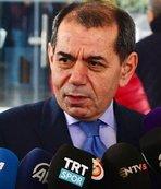 Dursun Özbek beklenen açıklamayı yaptı: Fatih Terim...