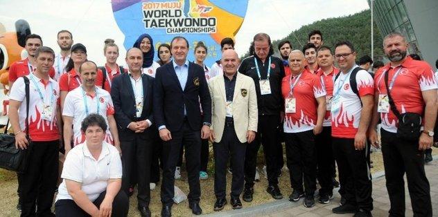Tekvando Milli Takımı dünya ikincisi