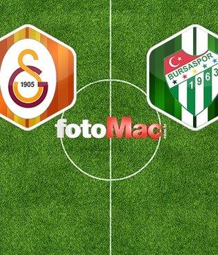 Galatasaray - Bursaspor maçı ne zaman saat kaçta ve hangi kanalda yayınlanacak?