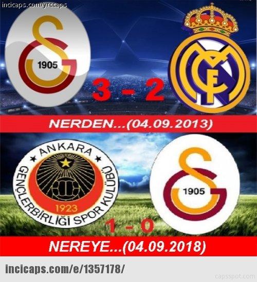 Galatasaray yenildi sosyal medya coştu!