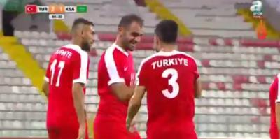 Türkiye, Suudi Arabistan'ı 3-1'le geçti