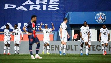 PSG - Lille: 0-1 (MAÇ SONUCU - ÖZET)