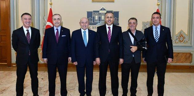 4 büyüklerin kulüp başkanları bir araya geldi!