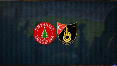 Ümraniyespor – İstanbulspor maçı ne zaman? Saat kaçta? Hangi kanalda canlı yayınlanacak? Şifresiz mi?