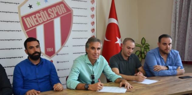 İnegölspor'un yeni teknik direktörü Murat Yoldaş