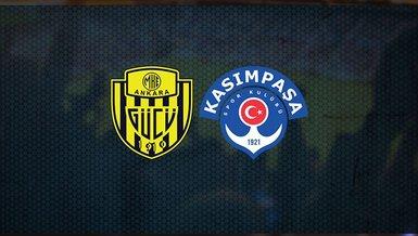 Ankaragücü Kasımpaşa maçı ne zaman, saat kaçta ve hangi kanalda canlı yayınlanacak? İşte detaylar...