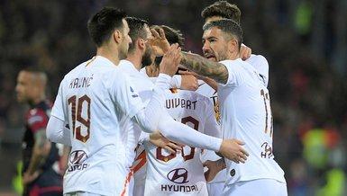Cagliari 3-4 Roma   MAÇ SONUCU