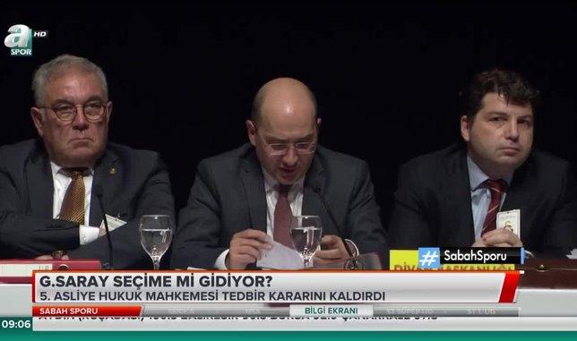 Galatasaray seçime mi gidiyor?