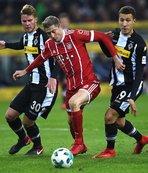Bayern Münih'in serisi 5 maç sürdü