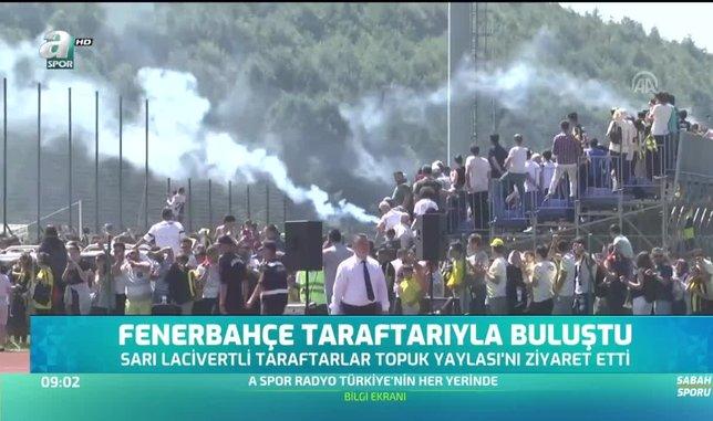 Fenerbahçe taraftarıyla buluştu