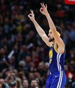 Warriors kazandı, Thompson rekor kırdı