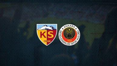 Kayserispor - Gençlerbirliği maçı ne zaman, saat kaçta ve hangi kanalda canlı yayınlanacak? | Süper Lig