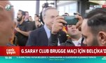 Galatasaray Club Brugge maçı için Belçika'da