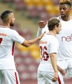 Galatasaray'ın yedekleri hazırlık maçında coştu