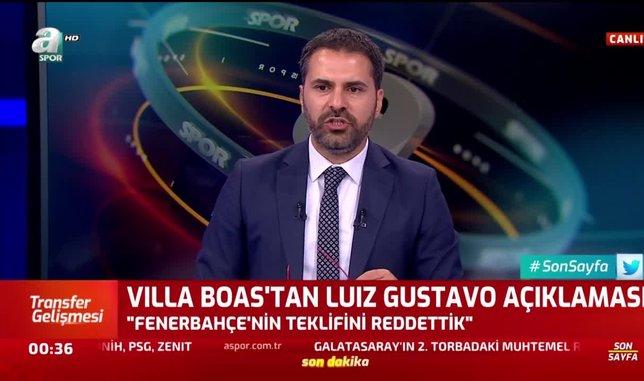 Marsilya'dan flaş Luiz Gustavo açıklaması