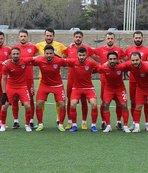 Elaziz Belediyespor kıl payı kazandı