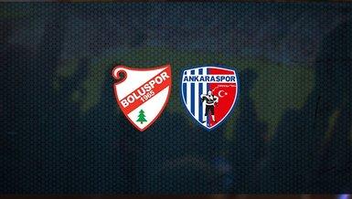 Boluspor - Ankaraspor maçı ne zaman, saat kaçta ve hangi kanalda canlı yayınlanacak? | TFF 1. Lig