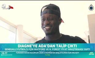 Mbaye Diagne'ye Ada'dan talip çıktı