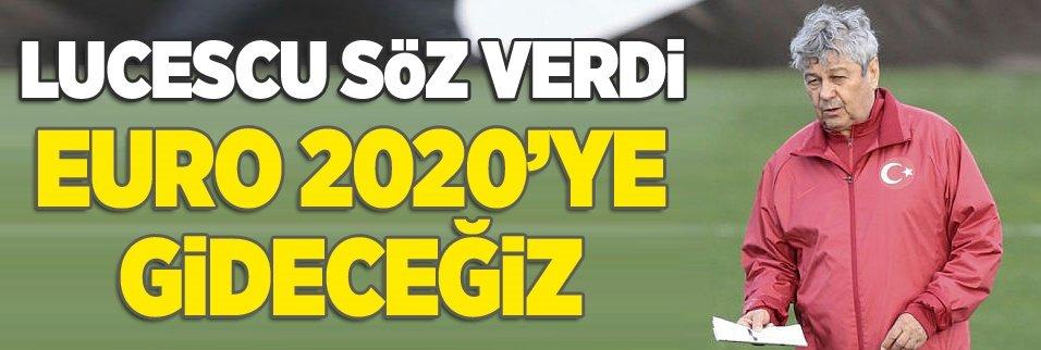 EURO 2020'de olacağız