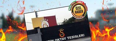 Galatasaraylı futbolcular evde kalmadılar! Florya'da idman...